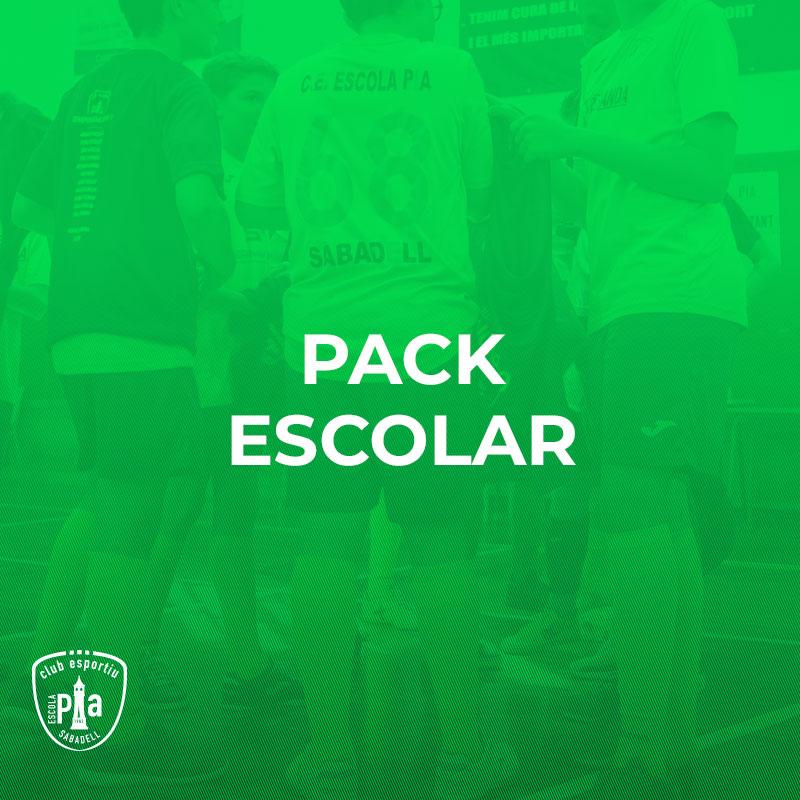 Pack Escolar CE Escola Pia Sabadell